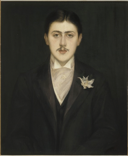 Marcel Proust by Jacques-Emile Blanche, 1892