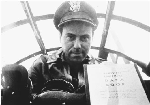 Still from the movie Catch-22 by Mike Nichols showing Alan Arkin as Captain John Yossarian
