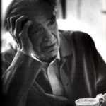 Emil M. Cioran photographed by John Foley, 1991 (retrieved from 'Oeuvres', Gallimard, Paris, 1995, p. 1729)