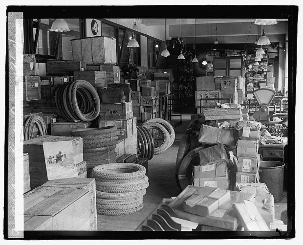 """Dead letter office"", 1922, Library of Congress"