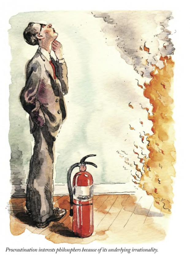 """Procrastination"" by Barry Blitt, 2010"