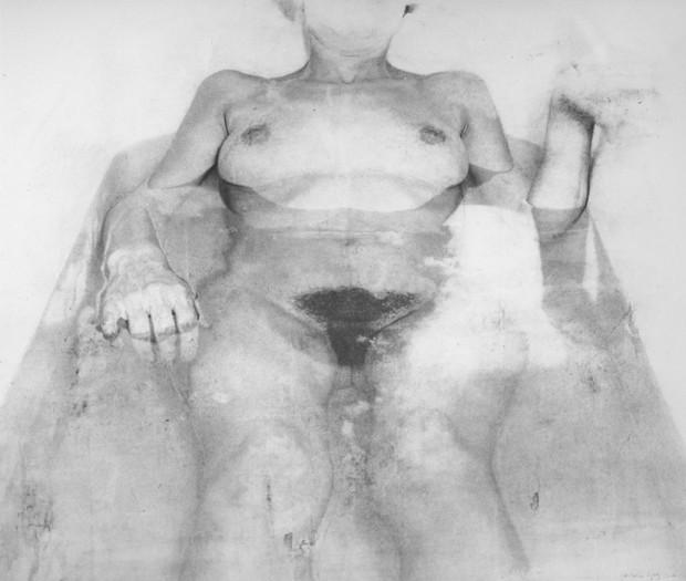 """""""Woman In The Bathtub"""" Antonio López García, 1971"""