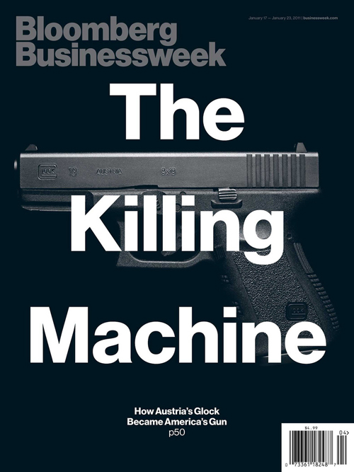 Cover for Bloomberg Businessweek magazine, January 17th 2011