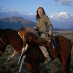 "David Chancellor Photographs: ""Huntress with buck"""
