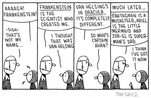"""Frankenstein!"" by Tom Gold (March 2011)"