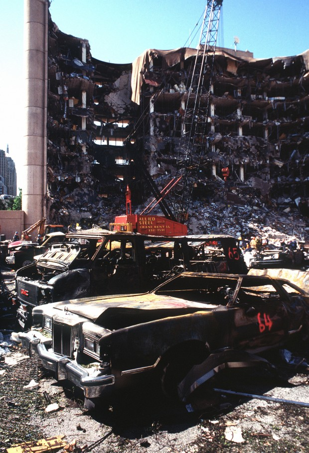 The Oklahoma City Bombing, April 1995