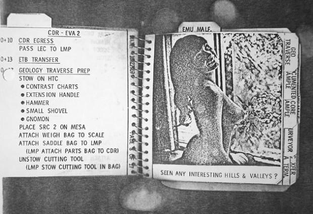 Apollo 12: Pete Conrad's Cuff Checklist, Playmate No. 1