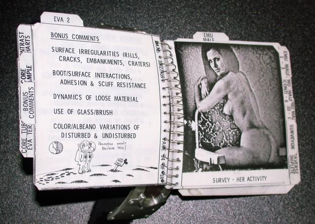 Apollo 12: Alan Bean's Cuff Checklist, Playmate No. 2