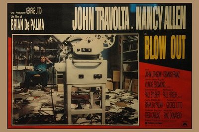 """Blow Out"" 1981, Italian poster"