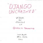Django Unchained: Tarantino's Next Movie