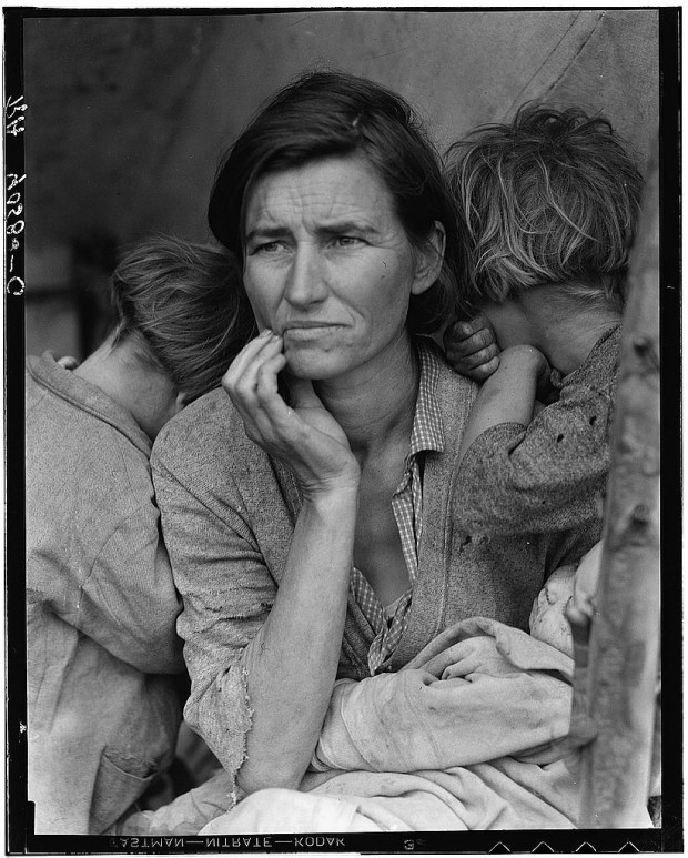 """Migrant Mother"" by Dorothea Lange, 1936"
