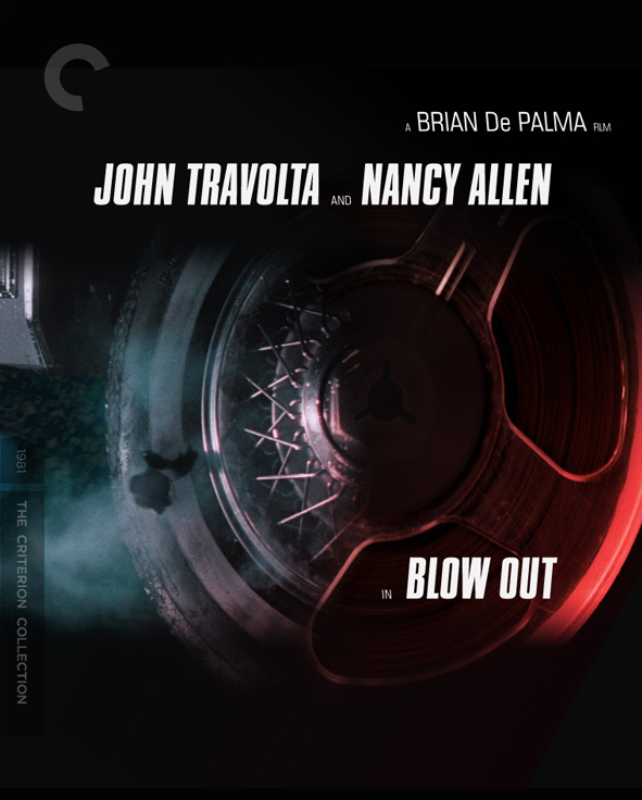 Unused cover concept by F Ron Miller for The Criterion Collection edition of Brian De Palma 'Blow Out': the tire.