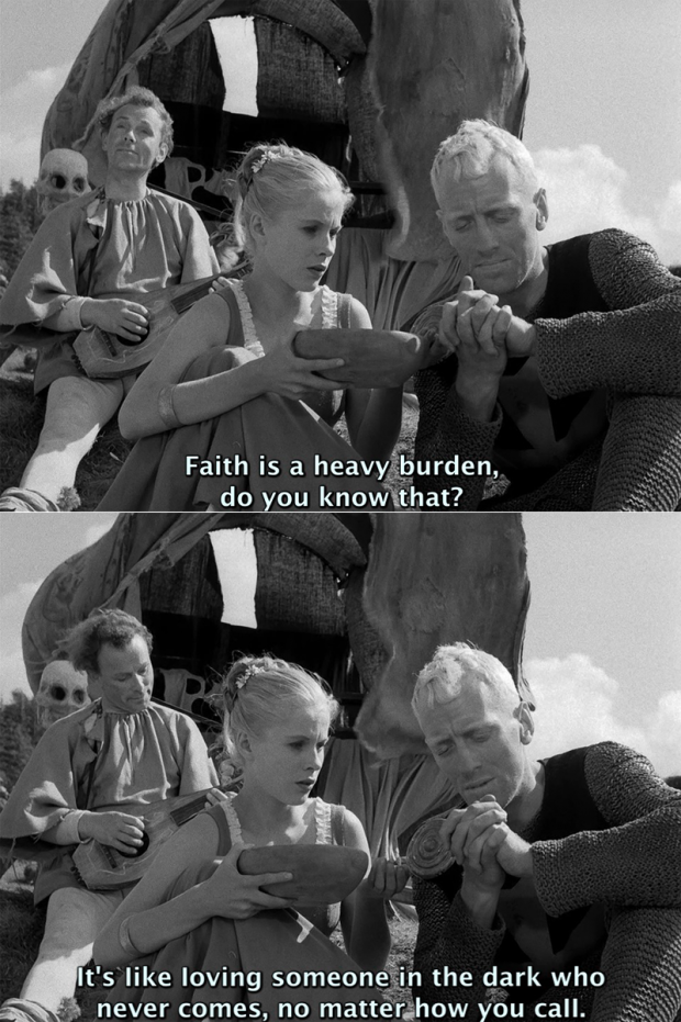 The Seventh Seal by Ingmar Bergman, 1957