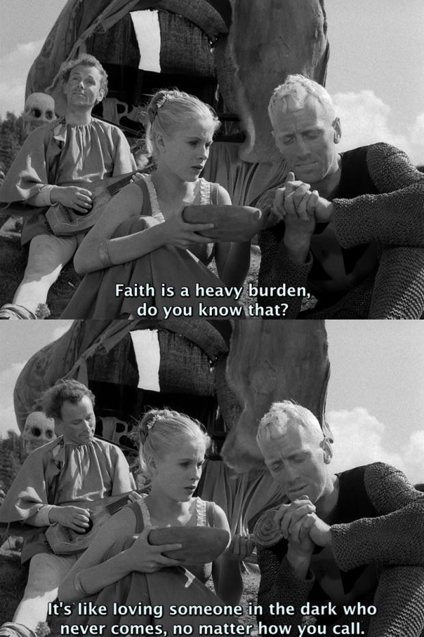 The Seventh Seal by Ingmar Bergman, 1957