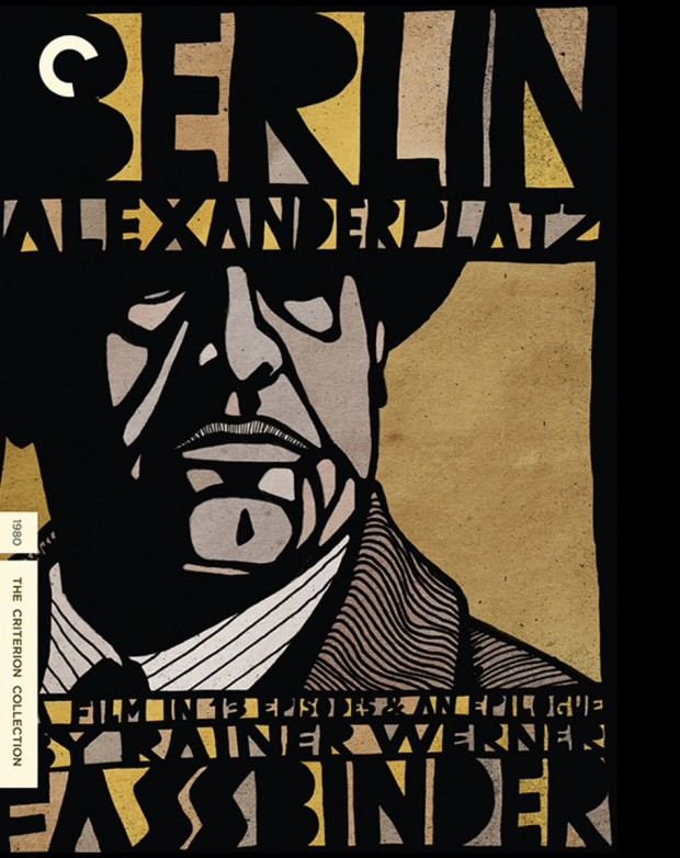 "Cover design by Eric Skillman for ""Berlin Alexanderplatz"" (1980), The Criterion Collection no. 411"