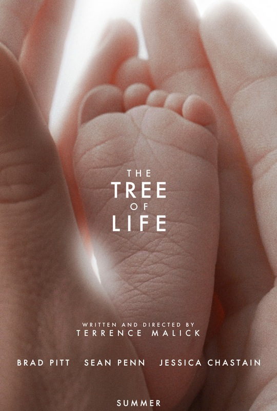 """One of the official posters for Terrence Mallick's award winning film """"The Tree of Life"""" (2011)"""