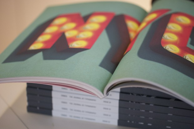 Codex Issue One: photograph of the inside (b)