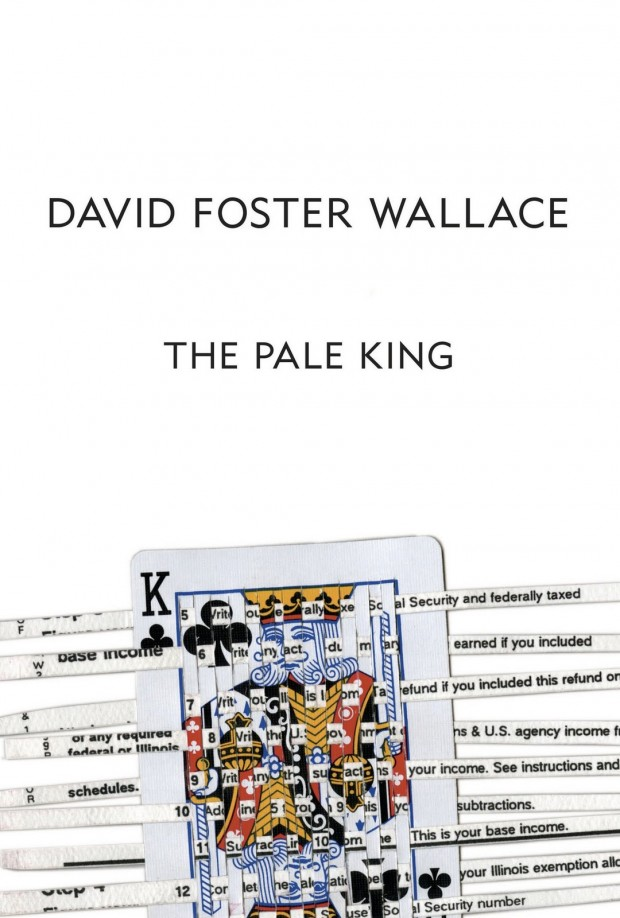 Cover design by Karen Green for the American edition of David Foster Wallace's unfinished novel The Pale King