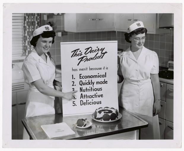 """This Dairy Product Has Merit"", US Department of Agriculture, ca. 1950"