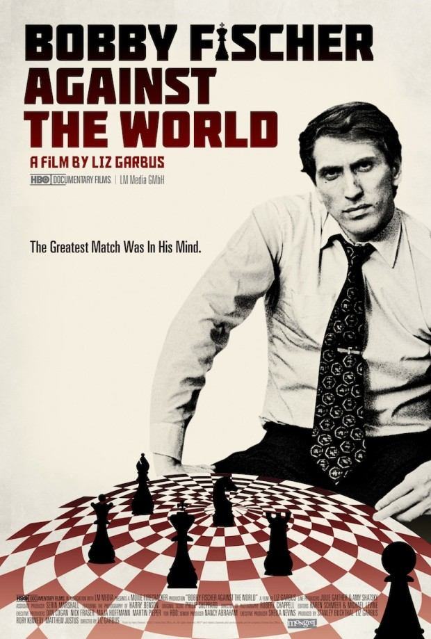 "Movie poster for ""Bobby Fischer Against the World"" (Liz Garbus, 2011)"
