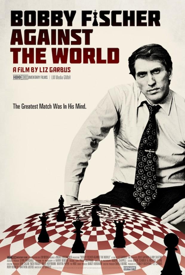 "Movie poster for ""Bobby Fischer Against the World"" (Liz Garbus, 2011)"