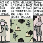 """Science and Religion"" by Tom Gauld, 2011"