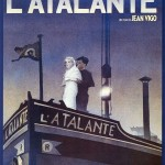 L'Atalante poster, designed by Michel Gondry, 1990