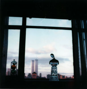 """Bust with Twin Towers"", no date, André Kertész"