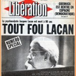 September 9, 2011: 30th anniversary of Jacques Lacan's death
