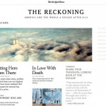 "NYTimes.com: ""The Reckoning. America and the World a Decade After 9/11"""