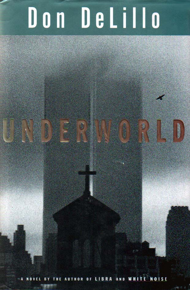 Cover design for the American edition of Don DeLillo's novel Underworld (Scribner, 1997)