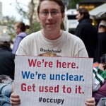 Occupy Wall Street rally, on October 11, 2011 in Financial District, NY, US. Photo by Kurt Christensen used Photo used under Creative Commons (CC BY-NC 2.0)