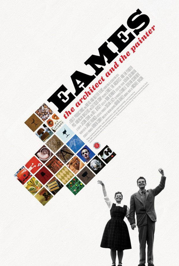 Official poster for the documentary Eames: The Architect and the Painter (Jason Cohn & Bill Jersey, 2011)