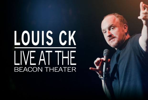 """Louis CK Live at the Beacon Theater"" (photo from louick.net)"