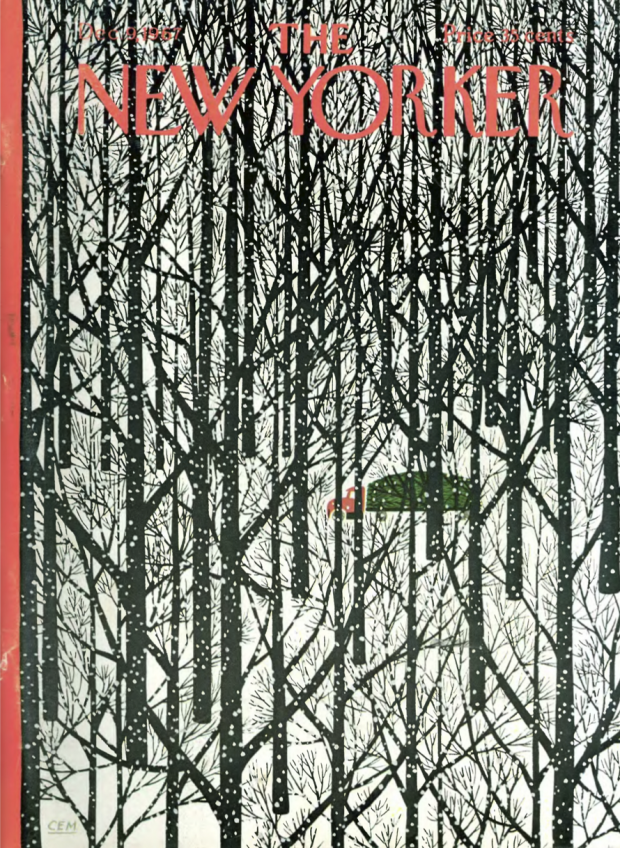 Cover illustration by Charles E. Martin for The New Yorker, December 9, 1967