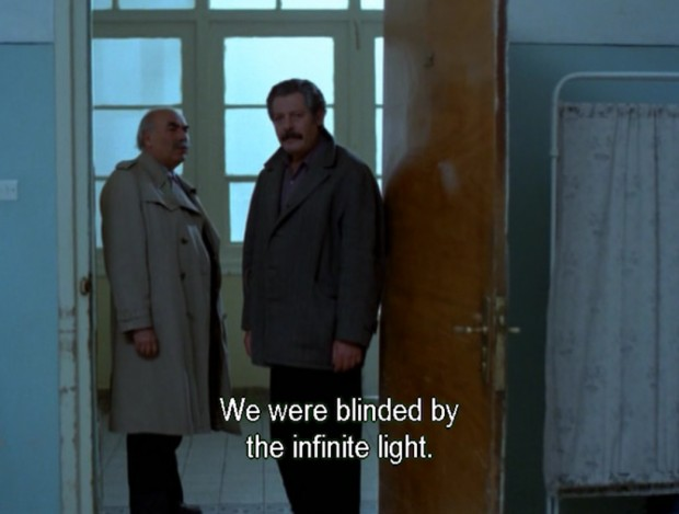 """""""The Beekeeper"""" by Theo Angelopoulos, Greece, 1986, screen capture at 56' 27"""""""