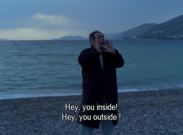 """""""The Beekeeper"""" by Theo Angelopoulos, Greece, 1986, screen capture at 1hr 00' 10"""""""