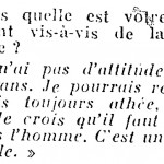 Image from Luis Buñuel's interview in L'Express, May 12, 1960, p. 43