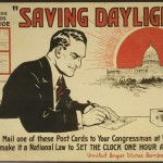 "LOC: ""Saving daylight!"" postcards to congressmen, 1918"
