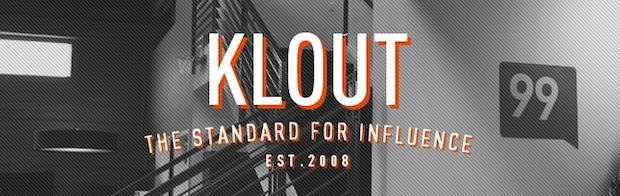 Klout official website