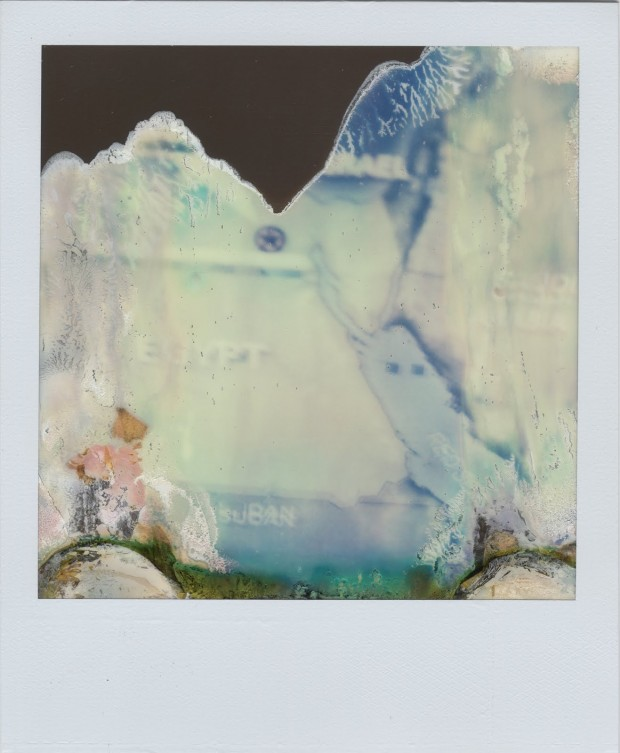 """Ruined Polaroid #31"" by William Miller from the Ruined Polaroids series, 2011. © 2012 William Miller."