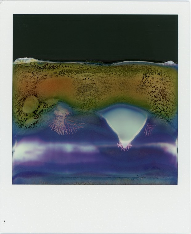 """Ruined Polaroid #47"" by William Miller from the Ruined Polaroids series, 2011. © 2012 William Miller."