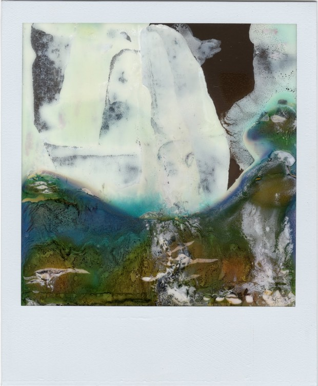 """Ruined Polaroid #7"" by William Miller from the Ruined Polaroids series, 2011. © 2012 William Miller."