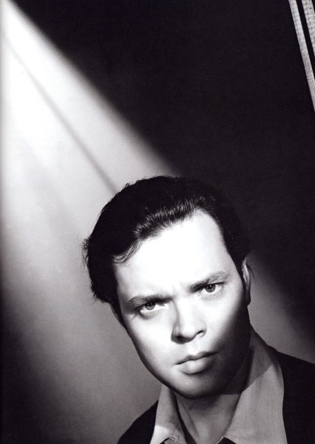 Undated photo of Orson Welles, retrieved from Dr. Macro's website