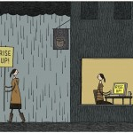 """Rise Up!""  by Tom Gauld, March 2012"