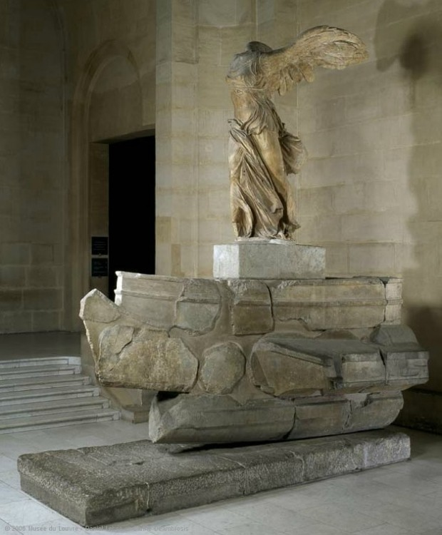 """The Winged Victory of Samothrace"" © 2006 Louvre Museum / Daniel Lebée and Carine Deambrosis"
