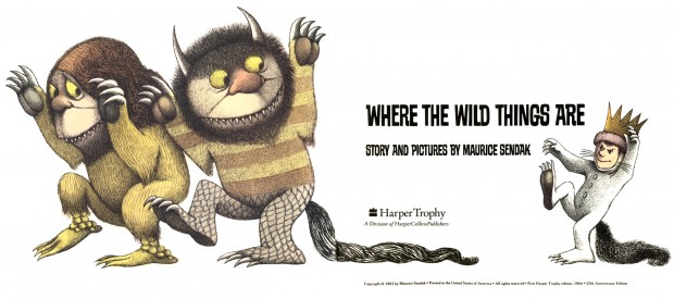 """Where the Wild Things Are"" (copyright page) by Maurice Sendak,  Harper Trophy edition (1963)1984, 25th Anniversary Edition. © Maurice Sendak."