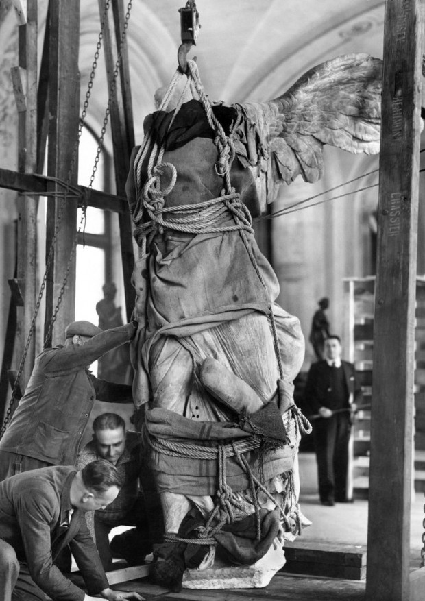 """The Winged Victory of Samothrace"" by The New York Times, November 12, 1939"