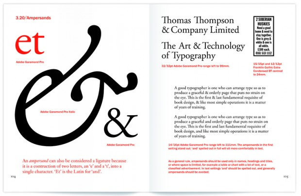 """Type Matters!"" (pp. 104-105) by Jim Williams (New York: Merrell, 2012) Retrieved from typetoken®"