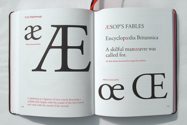 """Type Matters!"" (pp. 106-107) by Jim Williams (New York: Merrell, 2012) Retrieved from typetoken®"